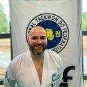 Juan - instructeur à l'école de taekwon-do
